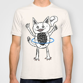Monster Hula Hoop T-shirt by Mailboxdisco
