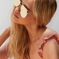 Quay The Playa Aviator Sunglasses | Urban Outfitters