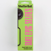 Audiovox Shutterball Bluetooth Camera Remote Black One Size For Women 24350010001