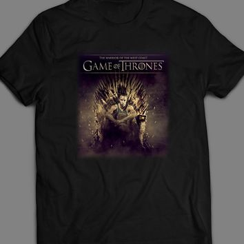 """STEPH CURRY """"WARRIOR OF THE WEST COAST"""" GAME OF THRONES PARODY T-SHIRT"""
