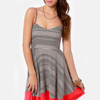 BB Dakota by Jack Nash Striped Dress