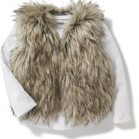 Faux-Fur Vest for Toddler | Old Navy