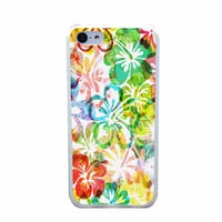 Aloha Hibiscus Flower Case for iPhone 4 5 6s 6s plus