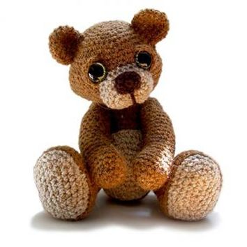 Buy Theo the Teddy amigurumi pattern - AmigurumiPatterns.net