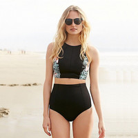 New Arrival Hot Summer Beach Swimsuit Sexy Swimming Swimwear High Waist Bikini [9703276042]