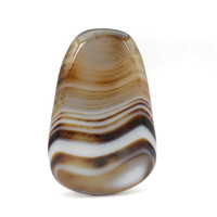 Brown Onyx Agate Cabochon