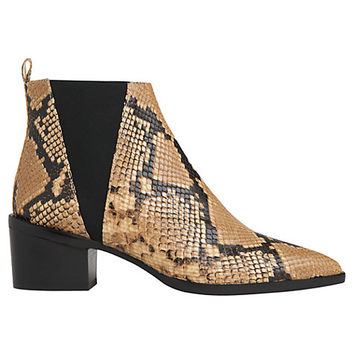 Buy Whistles Belmont Pointed Toe Block Heeled Ankle Boots | John Lewis