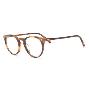 Oliver peoples High quality glasses spectacle frames for men and women, retro plate, spectacle frame O`MALLEY ov5183