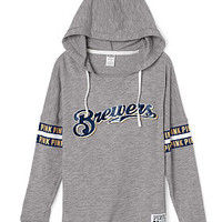 Milwaukee Brewers Varsity Pullover Hoodie - PINK - Victoria's Secret