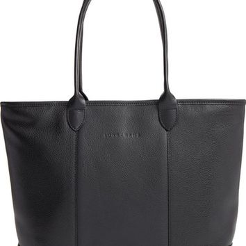 Longchamp 'Veau' Leather Tote | Nordstrom