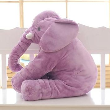 40/60cm Infant Plush Elephant Calm Doll Baby Toy Elephant Pillow Plush Toys Stuffed Doll