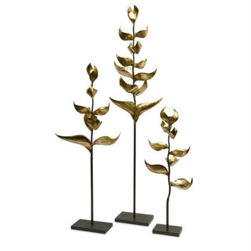 3 Candle Holders - Plant Inspired