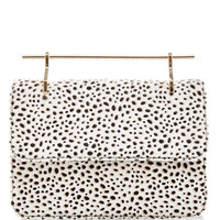 La Fleur Du Mal Pony Hair Shoulder Bag