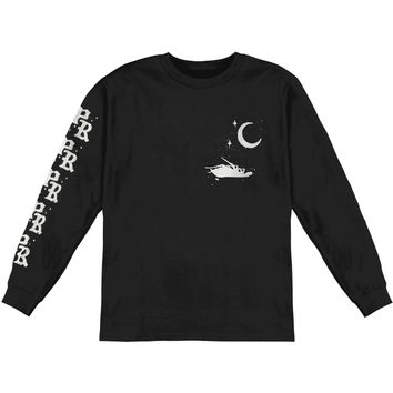 Papa Roach Men's  Leader Longsleeve Tee  Long Sleeve Black