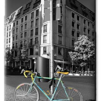 Berlin Street View With Bianchi Bike Galaxy S6 Case for Sale by Ben and Raisa Gertsberg