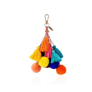 THE POOLSIDE TASSEL BAG CHARM
