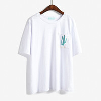 Cactus Pocket T-shirt