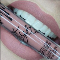 DCCKWQA 2016 New arrive brand makeup Lip Kylie Lip gloss by kylie Jenner Lipstick Lip Glass Liquid Matte Lasting Makeup new in a box