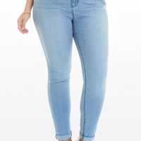 Plus Size Cuff Love Skinny Jeans | Fashion To Figure