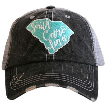 Katydid South Carolina Trucker Hat