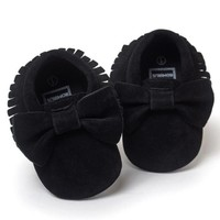 Infant Baby Girl Bow Shoes