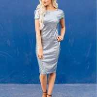 Trevina Sequined Party Dress