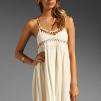 bless'ed are the meek High Beam Dress in Cream from REVOLVEclothing.com