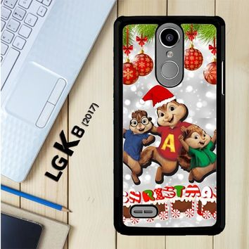 Alvin And The Chipmunks And The Chipettes D0268 LG K8 2017 / LG Aristo / LG Risio 2 / LG Fortune / LG Phoenix 3 Case