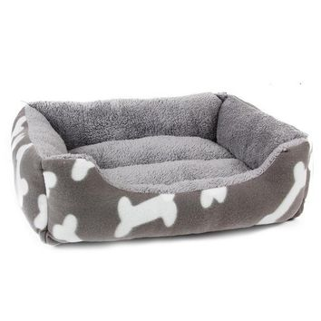 Bones and Stripes Luxury Dog Bed