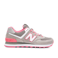 New Balance Core Plus Sneaker in Grey & Pink