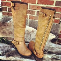 Show Stompin' Boots - Tan