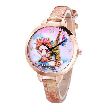 Paris Girl Wrist Watch