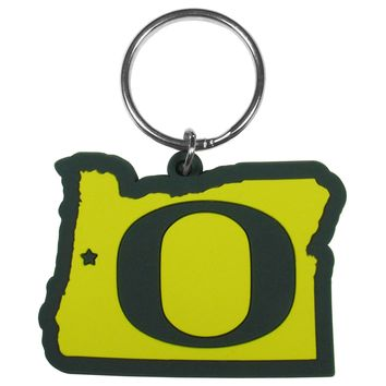 Oregon Ducks Home State Flexi Key Chain NCAA Licensed
