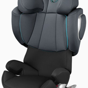 Cybex Solution Q2-Fix High Back Booster Child Safety Car Seat Black Sea
