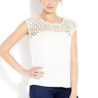Crochet Daze Knit Top