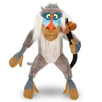 "Disney Store The Lion King 16"" Rafiki Plush Stuffed Animal Toy"