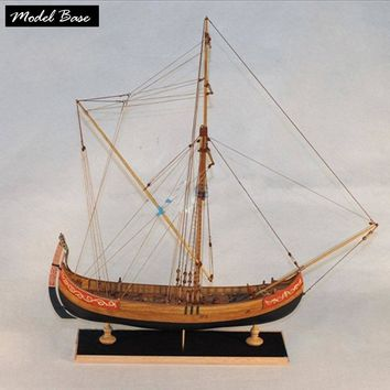 Wooden Ship Models Kits  Educational Kids Games Diy Model Boats Wooden Scale 1/48 3d Laser Cut  Marmara Trade Boat  Model Wood