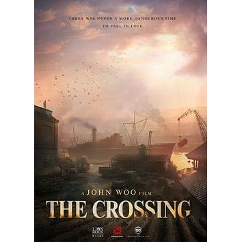 Crossing The poster Metal Sign Wall Art 8in x 12in