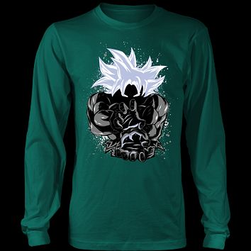 Super Saiyan Master Ultra Instinct Art Unisex Long Sleeve Shirt - TL01629LS
