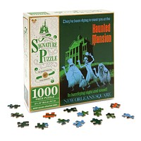 disney parks signature 1000 piece puzzle 45th haunted mansion new with box