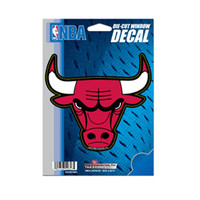 """NBA Chicago Bulls 5"" x 6"" Die-Cut Decal"""