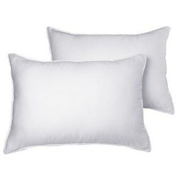 2 Pack Medium Support Density Pillow - Standard/Queen