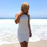 Lucky Stripe Bodycon Dress