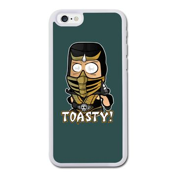 Chibi Scorpion-Mk Toasty  iPhone 6 Rubber Case (4.7 Inch) - Rubber Custom iPhone 6 Cases (4.7 Inch)