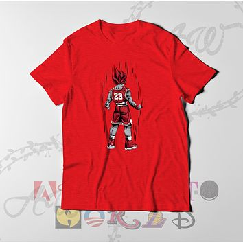 Goku MJ Jordan x Goku Dragon Ball Z Adult Unisex Tee T Shirt