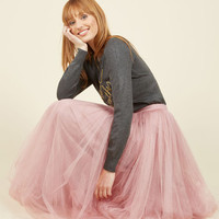 Tulle We Meet Again Skirt | Mod Retro Vintage Skirts | ModCloth.com