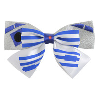 Star Wars R2-D2 Glitter Cosplay Bow