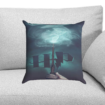stag patronus harry potter Custom Pillow Case for One Side and Two Side