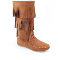 High Fringe Boots - CLOSEOUT