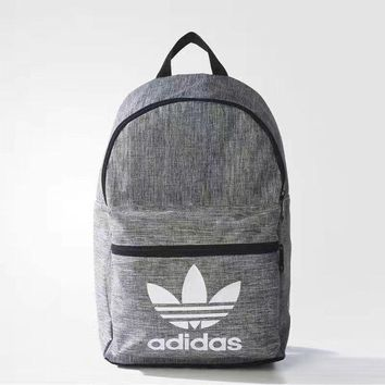 ADIDAS Originals Backpack In Grey Women Men Schoolbag
